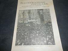 1894 MORTE CZAR ALESSANDRO III RUSSIA LA CZARINA REGINA ARCIVESCOVO MILANO