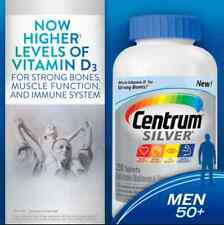 Centrum® Silver®  Men 50+ , 250 Tablets  -NEW-