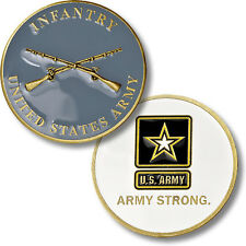 Infantry - Army Strong - US Army Challenge Coin