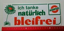 Aufkleber/Sticker A4: ich tanke natürlich Bleifrei - Honsel (020316179)