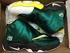 Nike Air Zoom Flight Glove Legion Pine Tour Yellow Gary Payton 630773-300 Sz 8