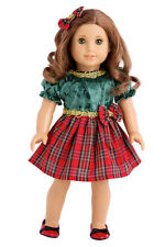 Christmas Classic - Doll Clothes for 18 inch American Girl, Holiday Dress Shoes