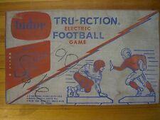 Vintage Tudor Tru-Action ELECTRIC FOOTBALL GAME Model 500 In Original Box