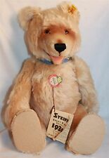 "❤STEIFF TEDDY BABY 1930 REPLICA BEAR 0176/42 LT ED 1985-86 16½"" ID's MAIZE VGC ❤"