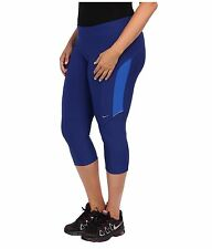 Womens NIKE DRI-FIT Filament Yoga Capri pant PLUS Size 2X 2xl xxl 20 22  Blue