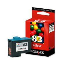 Genuine New Lexmark 83 Colour Ink Cartridge