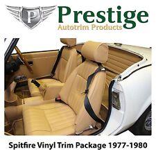 Triumph Spitfire Carpet Set Seat Covers & Trim Panels 1977-1980