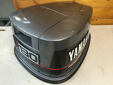 1988 Yamaha 130 Hp 2 Stroke V4 Outboard Engine Top Cowl Cover Hood Freshwater MN