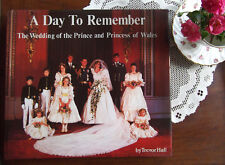 Princess Diana Wedding A Day to Remember HC book 200 photos HTF from England
