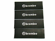 4x 54MM BREMBO BRAKE CALIPER STENCIL STICKERS, CUT-OUT, PAINT OVER DECAL