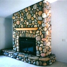 60 CONCRETE RIVER ROCK STONE MOULDS MAKE 1000s OF FIREPLACE WALL VENEER STONES