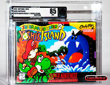 Yoshi's Island Mario World 2 Nintendo SNES New Factory Sealed VGA 85 Mint NES