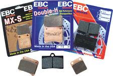 EBC BRAKE PADS Fits: Harley-Davidson FLHR Road King,FLHTC Electra Glide Classic,