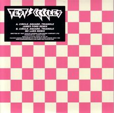 """TEST ICICLES - CIRCLE SQUARE TRIANGLE - 7"""" REMIXES SINGLE - MINT"""