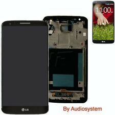 GLS: DISPLAY+ TOUCH SCREEN+FRAME ORIGINALE per LG OPTIMUS G2 D802 COVER VETRO