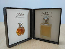 Ralph Lauren Safari Coffret Men and Women MINI MINIATURE PERFUME NEW
