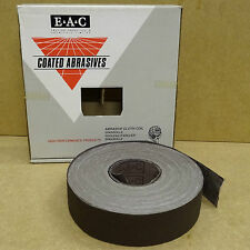 ENGLISH ABRASIVES ALUMINIUM OXIDE CLOTH SANDING COIL ROLL 50MM x 50M  120G
