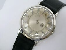 Vintage 14K White Gold Vacheron Constantin / LeCoultre Galaxy Mystery Dial Watch