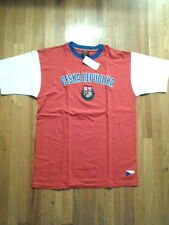 NWT Ceska Republika Embroidered T-Shirt (Red & Blue), Small (S-T-218)