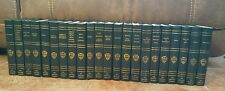 The Harvard Classics Books 22 Volumes Green Leather Deluxe Registered Edition