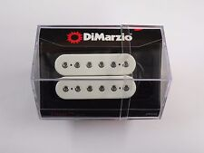 DiMarzio Regular Spaced Titan Neck Humbucker White W/Chrome Poles DP 258