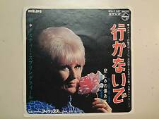 "DUSTY SPRINGFIELD:If You Go Away-What's It Gonna Be-Japan 7"" Philips SFL-1137 PS"