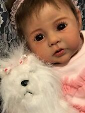 Reborn Baby Girl Doll Raven by Ping Lau New Release Ltd Ed Custom Order