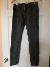 Cabi Black distressed Denim Skinnie Jeans Sz2 #966