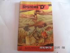 SYSTEME D N°130 10/1956 NETTOYAGE AQUARIUM FOSSE SEPTIQUE SKIS NAUTIQUES   J30
