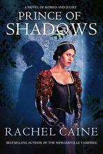 RACHEL CAINE _ PRINCE OF SHADOWS Libro en Inglés Nuevo s/ Usar