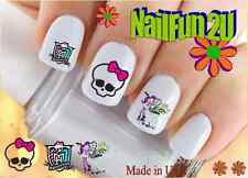 "RTG Set#576 CHARACTER ""Monster High"" WaterSlide Decals Nail Art Transfers Salon"