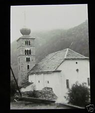 Glass Magic Lantern Slide VISPTAL ST NIKLAUS C1910 SWITZERLAND L39 .