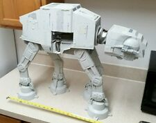 "STAR WARS LEGACY 2010 AT-AT IMPERIAL WALKER HASBRO 25"" Tall w/ LIGHTS & SOUNDS"