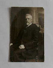 c1920 B/W Photograph. Distinguished Older Man. Possibly a Famous Person/ Music?