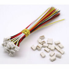 10sets Mini Micro SH 1.0 JST 4-Pin Connector plug Male with 150MM cable & female