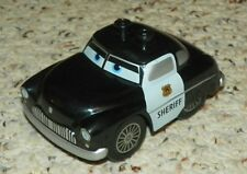 LEGO - Duplo Cars - Car w/ 2 Top Studs - Cars Sheriff Pattern - Black