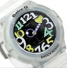 Casio Baby-G * BGA131-7B4 Neon Illuminator UV LED White Translucent COD PayPal