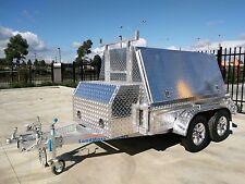 LoadMaxx 8x5 aluminium tandem axle tradesman trailers 2T