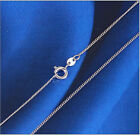 """Wholesale lots 5pcs S80 Silver """"O""""chain Necklace size 16""""-30""""N03"""