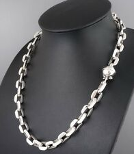 "24"" 170g HUGE HEAVY CLASSIC BARAKA 925 STERLING SILVER MENS NECKLACE CHAIN PRE"