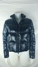 Lauren Ralph Lauren Women Size S Black puffer quilted coat Down winter shiny