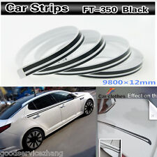 12mm x 9.8 meters Tape Vinyl Decal DIY Sticker for Car body motorcycles boats