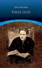 Three Lives Dover Thrift Editions - Gertrude Stein - Paperback