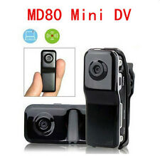 Mini DVR Camcorder DV Video Recorder Digital Spy Hidden Camera Web Cam MD80 DE