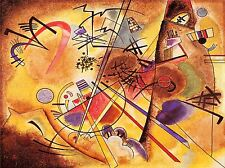 WASSILY KANDINSKY ABSTRACT SMALL DREAM IN RED OLD ART PAINTING PRINT 3040OMLV