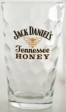 Jack Daniel's Tennessee Honey Bee Logo Tumbler Glass 14oz, Faceted Glass, Italy
