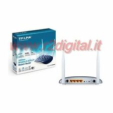 ROUTER TP-LINK TD-W8961ND WIRELESS N MODEM 300Mbps LAN ADSL WIFI RETE CASA PC