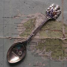 SS Iberia Solid Silver Hallmarked P&O Shipping Line Liner Enamel Spoon