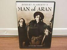 """Man of Aran (DVD, 2003)  ROBERT FLAHERTY  Colman """"Tiger"""" King     MAGGIE DIRRANE"""