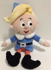 """Rudolph The Red Nosed Reindeer Plush Hermie Elf Doll Dentist 9"""" Soft Plushy EUC"""